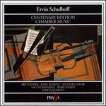 Ervín Schulhoff Centenary Edition Chamber Music