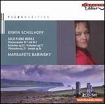 Erwin Schulhoff: Solo Piano Works