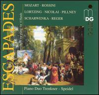 Escapades - Evelinde Trenkner (piano); Sontraud Speidel (piano); Speidel-Trenkner Piano Duo