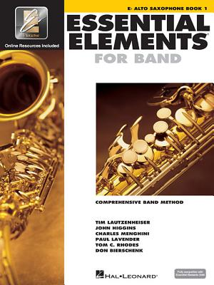 Essential Elements for Band - Eb Alto Saxophone Book 1 with Eei - Hal Leonard Corp (Creator)