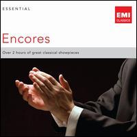 Essential Encores - Alexis Weissenberg (piano); Alicia de Larrocha (piano); Alison Balsom (trumpet); Angela Gheorghiu (soprano);...