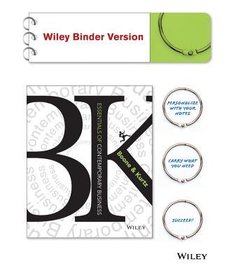 Essentials of Contemporary Business, Binder Ready Version - Boone, Louis E, and Kurtz, David L