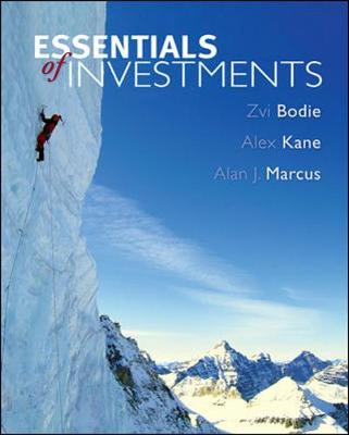 Essentials of Investments with Standard & Poor's Bind-In Card - Bodie, Zvi