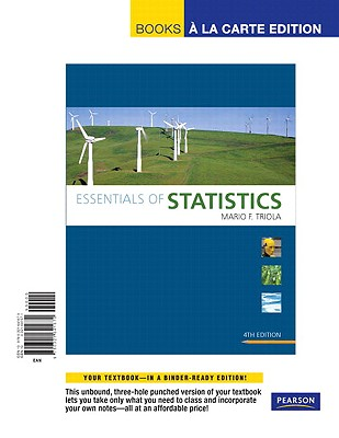 Essentials of Statistics - Triola, Mario F