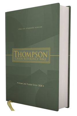 Esv, Thompson Chain-Reference Bible, Hardcover, Red Letter - Thompson, Frank Charles, Dr. (Editor), and Zondervan