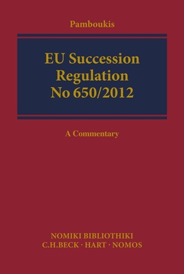 EU Succession: A Commentary - Pamboukis, Haris (Editor)