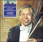 Eugene Levinson, Principal Double Bass, New York Philharmonic