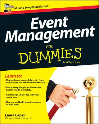 Event Management For Dummies - Capell, Laura