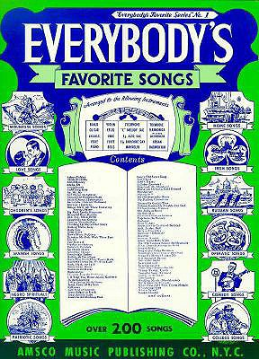 Everybody's Favorite Songs: P/V/G - Music Sales Corporation