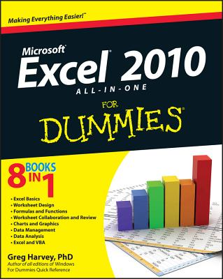 Excel 2010 All-In-One for Dummies - Harvey, Greg