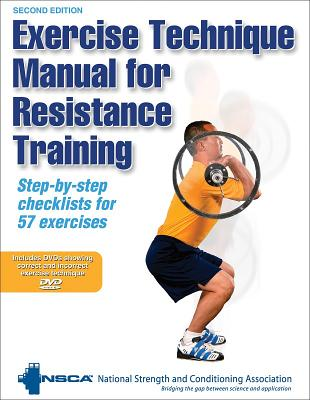 Exercise Technique Manual for Resistance Training - Nsca -National Strength & Conditioning Association