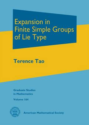 Expansion in Finite Simple Groups of Lie Type - Tao, Terence