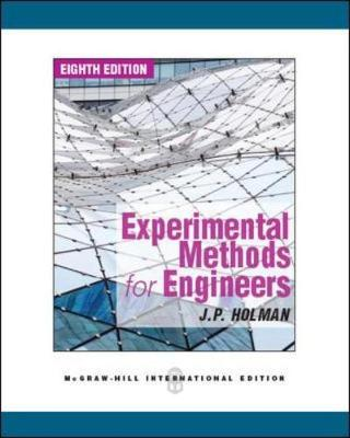 Experimental Methods for Engineers - Holman, Jack P.