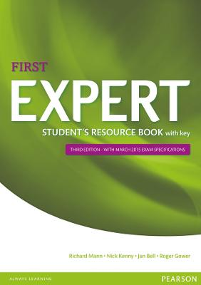 Expert First 3rd Edition Student's Resource Book with Key - Kenny, Nick