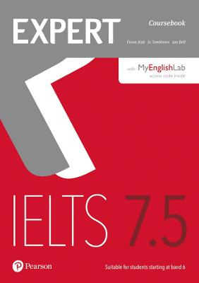 Expert IELTS 7.5 Coursebook with Online Audio and MyEnglishLab Pin Pack - Aish, Fiona