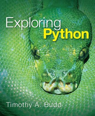 Exploring Python - Budd, Timothy A