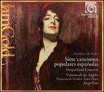 Falla: Siete canciones populares españoles; Harpsichord Concerto