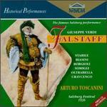 Falstaff - Alfredo Tedeschi (tenor); Angelica Cravcenko (mezzo-soprano); Augusta Oltrabella (soprano); Franca Somigli (soprano);...