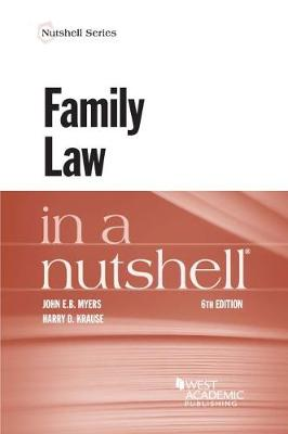 Family Law in a Nutshell - Myers, John, and Krause, Harry D.