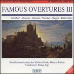 Famous Overtures, Vol. 3