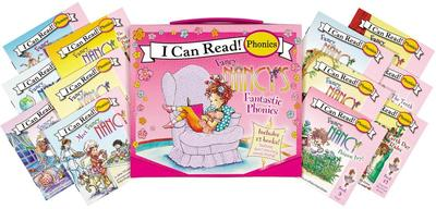 Fancy Nancy's 12-Book Fantastic Phonics Fun!: Includes 12 Mini-Books Featuring Short and Long Vowel Sounds - O'Connor, Jane