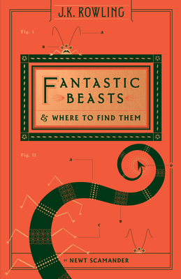 Fantastic Beasts and Where to Find Them (Hogwarts Library Book) - Scamander, Newt