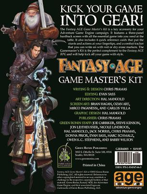 Fantasy Age Game Master's Kit - Pramas, Chris