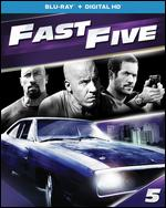 Fast Five: With Movie Reward [Includes Digital Copy] [UltraViolet] [Blu-ray] [2 Discs] - Justin Lin