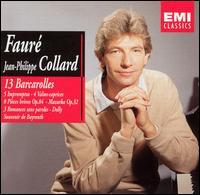 Fauré: 13 Barcarolles - Bruno Rigutto (piano); Jean-Philippe Collard (piano)
