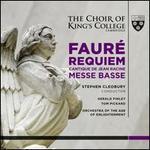 Fauré: Requiem; Cantique de Jean Racine; Messe Basse - Adam Banwell (treble); Douglas Tang (organ); Gerald Finley (baritone); Joshua Curtis (treble); Ken Aiso (violin);...