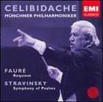 Fauré: Requiem; Stravinsky: Symphony of Psalms