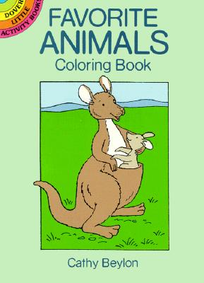 Favorite Animals Coloring Book - Beylon, Cathy, and Activity Books