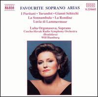Favourite Soprano Arias - Luba Orgonasova (soprano); Czecho-Slovak Radio Symphony Orchestra; Will Humburg (conductor)