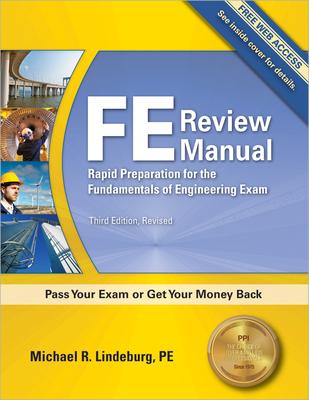 FE Review Manual - Lindeburg, Michael R, Pe