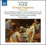 Ferdinando Paër: Il Santo Sepolcro