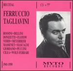 Ferruccio Tagliavini in Recital, 1949-1950