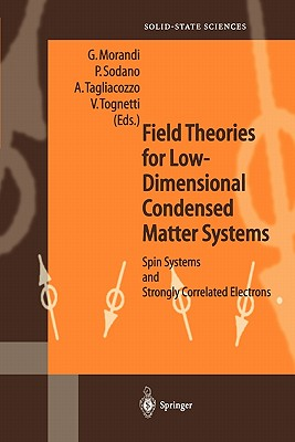 Field Theories for Low-Dimensional Condensed Matter Systems: Spin Systems and Strongly Correlated Electrons - Morandi, Guiseppe (Editor), and Sodano, Pasquale (Editor), and Tagliacozzo, Arturo (Editor)