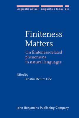 Finiteness Matters - Eide, Kristin Melum (Editor)