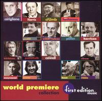 First Edition Music: World Premier Collection - Benjamin Owen (piano); Gregory Fulkerson (violin); James Tocco (piano); Jerome Lowenthal (piano); Leona Mitchell (soprano);...