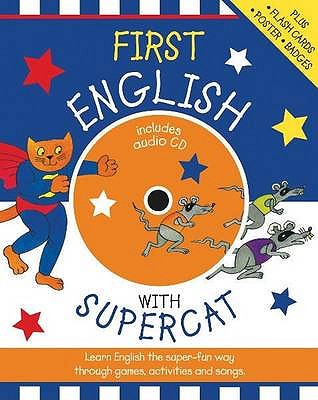First English with Supercat - Bruzzone, Catherine