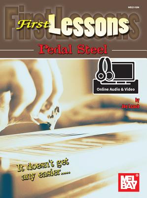 First Lessons Pedal Steel - Jay Leach