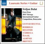 First Prize 2011 Tárrega International Guitar Competition, Benecasim: Srdjan Bulat
