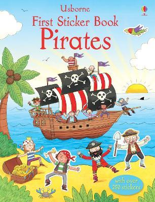 First Sticker Book Pirates - Taplin, Sam