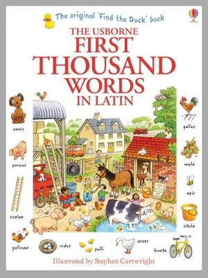 First Thousand Words in Latin - Amery, Heather