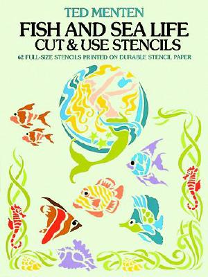 Fish and Sea Life Cut & Use Stencils - Menten, Ted
