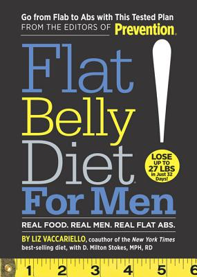 Flat Belly Diet! for Men - Vaccariello, Liz, and Stokes, D Milton, MPH, Rd