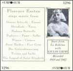 Florence Easton Sings Opera Arias