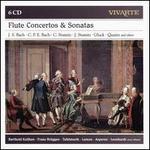 Flute Concertos & Sonatas: J.S. Bach, C.P.E. Bach, C. Stamitz, J. Stamiz, Gluck, Quantz and Others