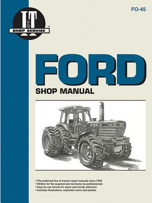 Ford Shop Manual Modelstw5 Tw15 Tw25 & Tw35 - Penton