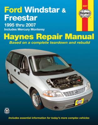 Ford Windstar & Freestar 1995 Thru 2007: Includes Mercury Monterey - Haynes, Max